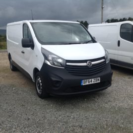 142 Vaxhaul Vivaro 1.6 New model